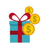Buying gifts Royalty Free Stock Images