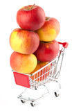 Buying healthy food Stock Photo