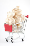 Buying healthy food Stock Photography