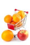 Buying healthy food Stock Photos
