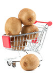 Buying healthy food Royalty Free Stock Image