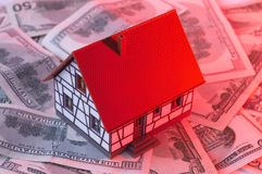 Buying a house Royalty Free Stock Photo