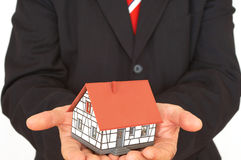 Buying a house Stock Image