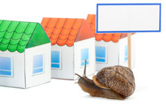 Buying house concept Royalty Free Stock Photography