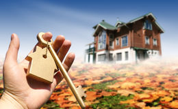 Buying house concept Royalty Free Stock Images