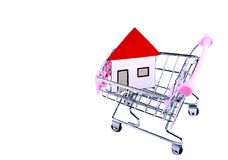 Buying a house concept Royalty Free Stock Images