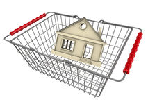 Buying a house. Concept Royalty Free Stock Images
