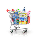 Buying of household goods. Royalty Free Stock Photos