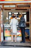 Buying ice cream Royalty Free Stock Photos