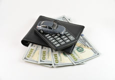 Buying a new car concept Royalty Free Stock Image