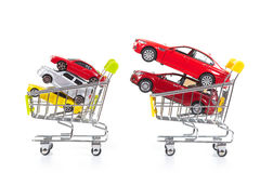 Buying a new car Stock Photography
