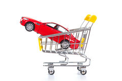 Buying a new car Stock Image