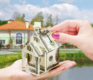 Buying a new home Royalty Free Stock Photography