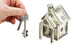 Buying a new home Stock Image