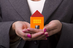 Buying a new house Stock Images