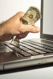 Buying online Royalty Free Stock Image