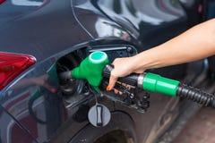 Buying petrol Royalty Free Stock Photo