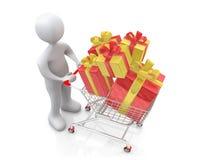 Buying Present Stock Image