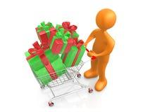 Buying Presents Stock Photos