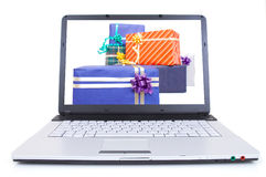Buying presents Royalty Free Stock Images