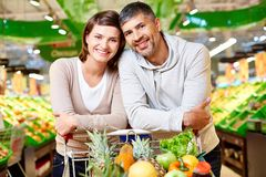 Buying products Stock Photo