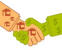 Buying real estate Stock Image