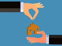 Buying and Selling A House or Home royalty free illustration