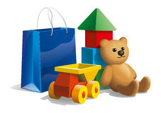 Buying toys Royalty Free Stock Photo