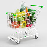 Buying vegetables Royalty Free Stock Images