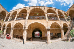 Buyuk Han (The Great Inn) courtyard entrance. Nicosia. Cyprus Stock Photo