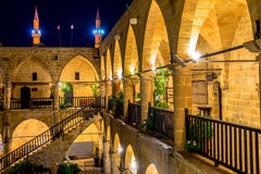 Buyuk Han (the Great Inn) is the largest caravansarai on the isl. And. Nicosia, Cyprus Stock Image