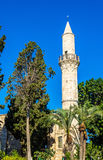 Buyuk or Kebir Mosque in Larnaca Stock Photo