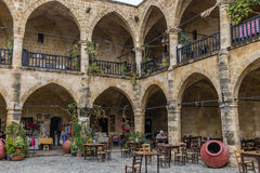 Buyuk Khan, Λευκωσία, βόρεια Κύπρος Στοκ Φωτογραφίες