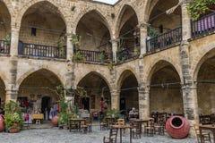 Buyuk Khan, Nicosia, Cipro del nord Fotografie Stock