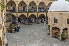 The Buyuk Khan, Nicosia, Cyprus Stock Photo