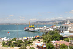 buyukada海岛伊斯坦布尔王子prinkipos tu 库存照片
