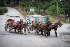 Buyukada των νησιών πριγκήπων ` κοντά στη Ιστανμπούλ, Τουρκία στοκ φωτογραφία με δικαίωμα ελεύθερης χρήσης