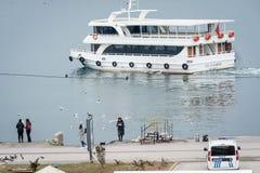 Buyukada delle isole del ` di principi vicino a Costantinopoli, Turchia Immagine Stock