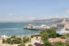 Buyukada (Prinkipos - de Eilanden van de Prins) Istanboel, Turkije Stock Foto's