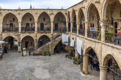 Buyuken Khan, Nicosia, Cypern Arkivbild