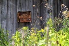 Buzón, caja de letra Imagen de archivo