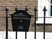 Buzón de correos Foto de archivo libre de regalías