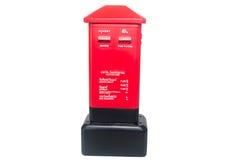 Buzón de correos tailandés rojo Imágenes de archivo libres de regalías