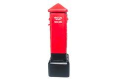 Buzón de correos tailandés rojo Imagenes de archivo