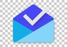 buzón de entrada por el icono del apk del gmail