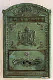 Buzón de la oficina de correos Imágenes de archivo libres de regalías