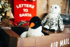 Buzón de Papá Noel Imagen de archivo libre de regalías