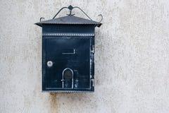 Buzón del marrón de Moden imagen de archivo libre de regalías