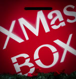Buzón del ` s de Papá Noel Imágenes de archivo libres de regalías
