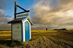 Buzón en Nueva Zelanda Fotografía de archivo